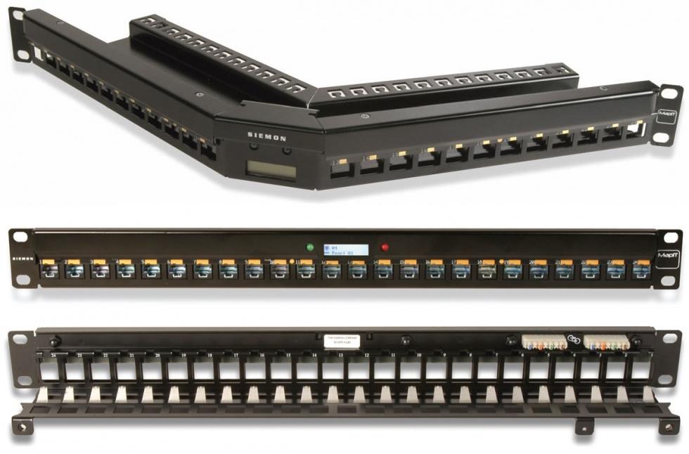 M-SPP-K24E MapITG2 интеллектуальная панель на 24 порта Keystone 6кат, 1U (б